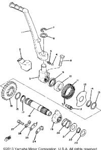 1979 Yamaha YZ250F OEM Parts, Ron Ayers