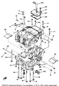 1981 Yamaha XS400 (XS400H) OEM Parts, Babbitts Yamaha