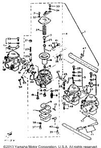 1982 Yamaha XJ750J OEM Parts, Babbitts Online