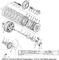 1982 Yamaha VIRAGO 750 (XV750J) OEM Parts, Babbitts Yamaha
