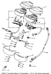 1982 Yamaha VIRAGO 750 (XV750J) OEM Parts, Babbitts Online