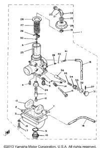 1982 Yamaha YZ80J OEM Parts, Babbitts Yamaha Partshouse