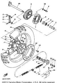 1983 Yamaha IT490K OEM Parts, Babbitts Online