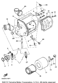 1986 Yamaha BIG WHEEL (BW200S) OEM Parts, Babbitts Online