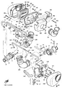 1987 Yamaha VIRAGO 700 (XV700CTC) OEM Parts, Babbitts