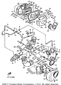 1992 Yamaha VIRAGO 1100 (XV1100DC) Starter Clutch