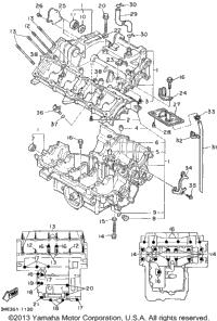 Boat Motor Cowling Boat Motor Lower Unit wiring diagram