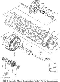 1998 Yamaha YZ250 (YZ250K1) OEM Parts, Ronnie's Mail Order