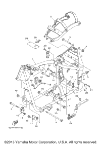 2000 Yamaha ROAD STAR SILVERADO (XV1600ATM) OEM Parts, Ron