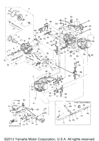 2000 Yamaha ROYAL STAR VENTURE MM (XVZ1300TFS) OEM Parts