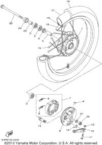 2002 Yamaha TTR125_L (TTR125LP) OEM Parts, Babbitts Online