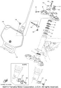 2002 Yamaha TTR125 (TTR125P) OEM Parts, Babbitts Yamaha