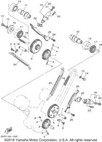2002 Yamaha V-STAR 1100 CLASSIC (XVS1100AP) OEM Parts, Ron