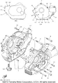 2002 Yamaha V-STAR 1100 CLASSIC (XVS1100APC) OEM Parts