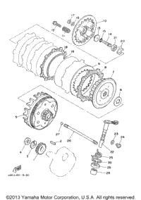 2003 Yamaha TTR225 (TTR225R) OEM Parts, Babbitts Yamaha