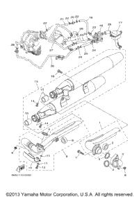 2003 Yamaha V-STAR 1100 CLASSIC (XVS1100ARC) OEM Parts