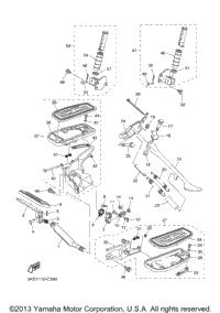 2004 Yamaha V STAR 1100 CLASSIC (XVS11AS) OEM Parts