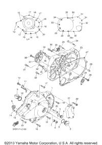 2005 Yamaha V STAR 1100 CLASSIC (XVS11AWT) OEM Parts