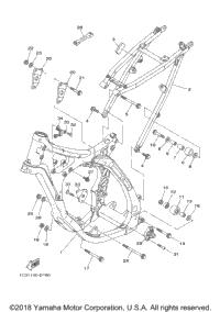 2005 Yamaha YZ125 (YZ125T1) OEM Parts, Babbitts Yamaha