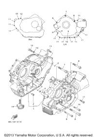 2007 Yamaha V STAR 1100 CLASSIC (XVS11AWW) OEM Parts