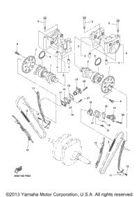 2013 Yamaha V STAR 1300 DELUXE (XVS13CTFDC) OEM Parts