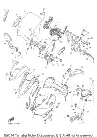 2015 Yamaha FJR1300A (FJR13AF) OEM Parts, Ron Ayers