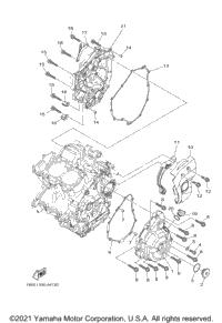 2015 Yamaha FZ07 (FZ07FCW) OEM Parts, Babbitts Yamaha