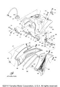 2015 Yamaha TTR125LE (TTR125LEF) OEM Parts, Babbitts