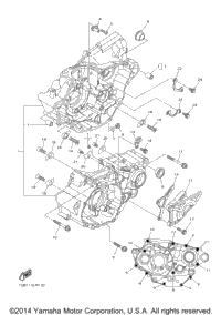 2015 Yamaha YZ250F (YZ250FFW) OEM Parts, Babbitts Yamaha