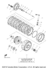2016 Yamaha YZ250F (YZ250FG) OEM Parts, Ronnie's Mail Order