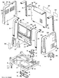 1998 Yamaha EF1000 OEM Parts, Babbitts Yamaha Partshouse