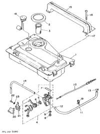 1998 Yamaha EF1000 OEM Parts, Babbitts Online