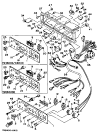 1996 Yamaha YG4600D OEM Parts, Babbitts Yamaha Partshouse