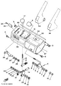 1990 Yamaha YS240TB OEM Parts, Hauck Powersports