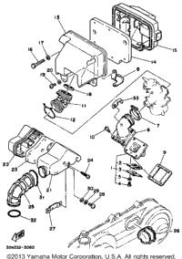 1986 Yamaha RIVA 80 (CV80S) OEM Parts, Babbitts Online