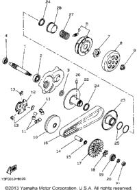 Yamaha Rhino Clutch Diagram, Yamaha, Free Engine Image For