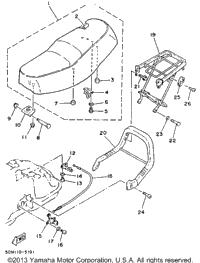 1993 Yamaha RIVA 125 (XC125E) OEM Parts, Babbitts Online