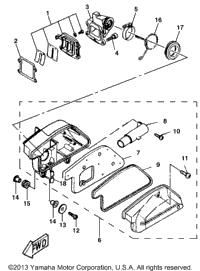 2000 Yamaha ZUMA II (CW50M) OEM Parts, Babbitts Online