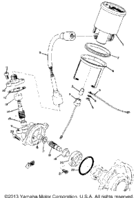 1973 Yamaha GP338 OEM Parts, Babbitts Online