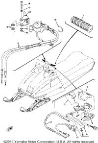 1979 Yamaha SRX440C OEM Parts, Babbitts Online