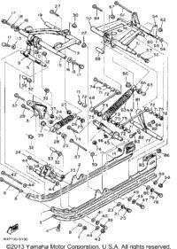 1983 Yamaha SRV (SR540G) OEM Parts, PartsPitstop.com