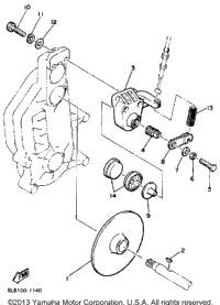 1983 Yamaha VMX540G OEM Parts, Hauck Powersports