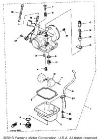 1984 Yamaha ENTICER 340 (ET340H) OEM Parts, Babbitts Online