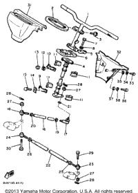 1984 Yamaha PHAZER (PZ480H) OEM Parts, Babbitts Online