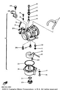 1984 Yamaha SRV (SR540H) OEM Parts, Babbitts Online