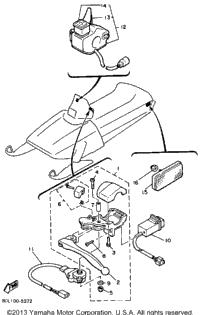 1985 Yamaha PHAZER (PZ480J) OEM Parts, PartsPitstop.com
