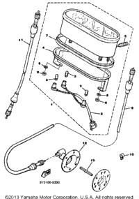 1986 Yamaha EXCEL III (EC340K) OEM Parts, Babbitts Online