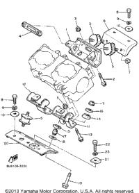 1986 Yamaha V-MAX (VMX540K) OEM Parts, Babbitts Online