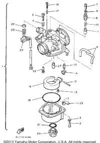 1987 Yamaha INVITER (CF300L) OEM Parts, Babbitts Online
