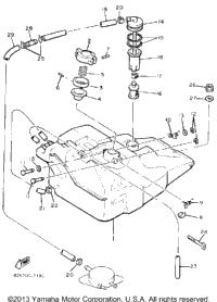 1987 Yamaha PHAZER (PZ480L) OEM Parts, Babbitts Online